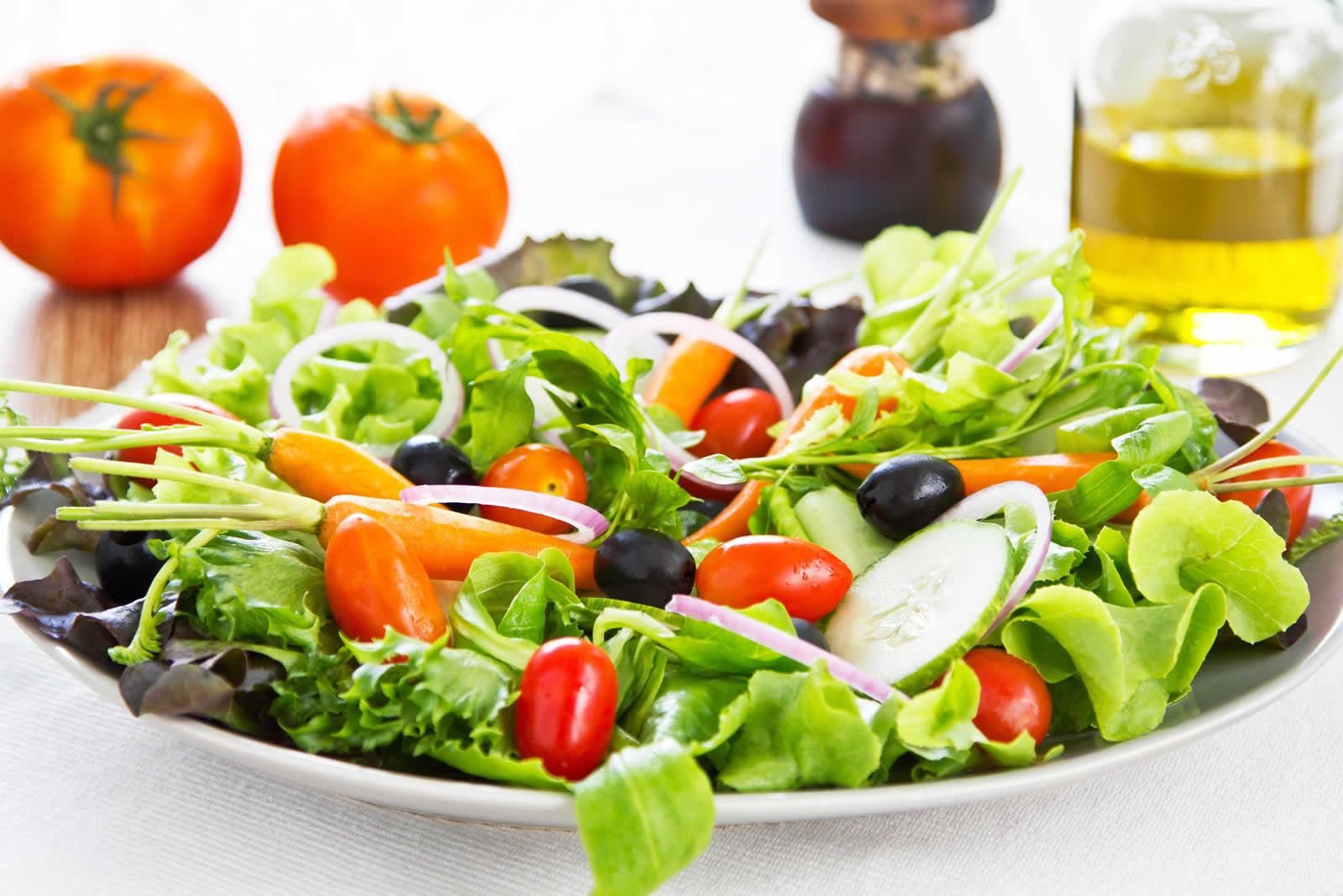 ensaladas y salsas