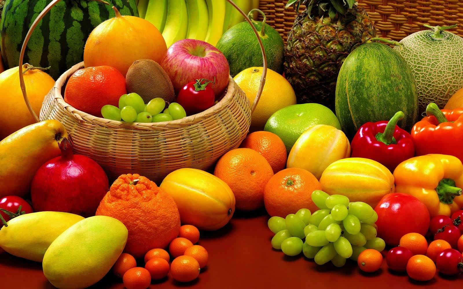 frutas del tiempo