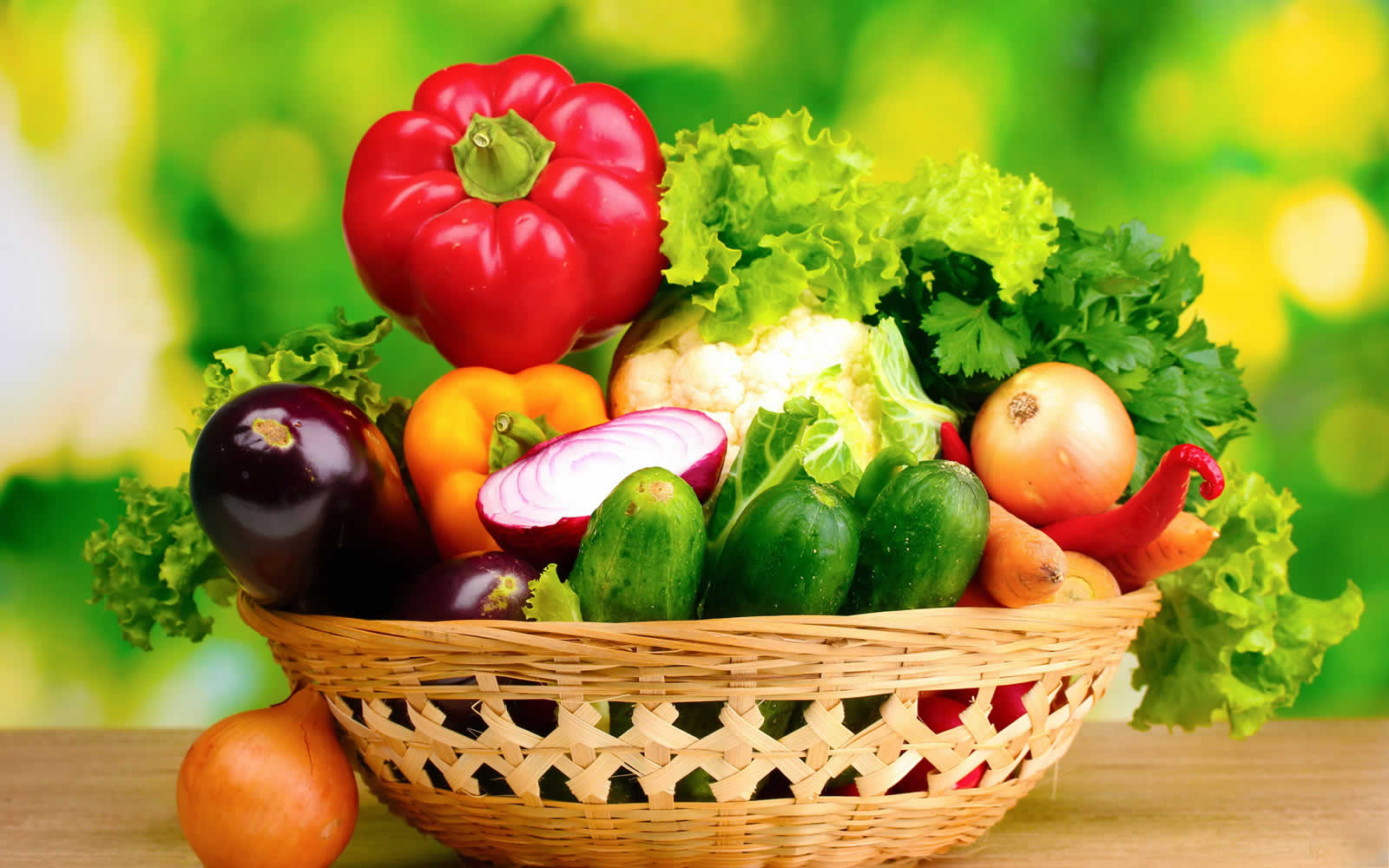 legumbres y verduras