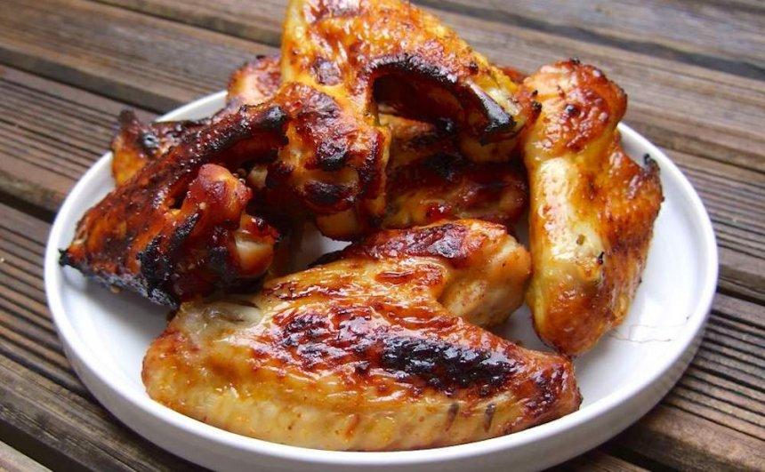 Alas de pollo agridulces
