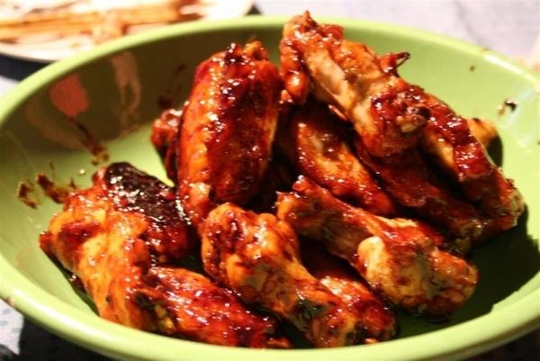 Alas de pollo estilo vietnamita