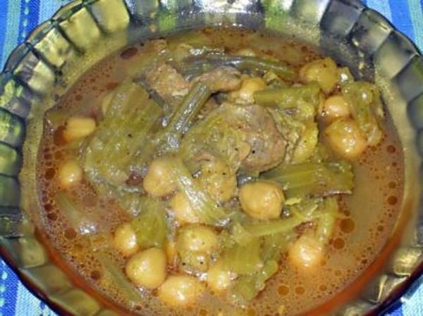 Albóndigas con salsa de apio