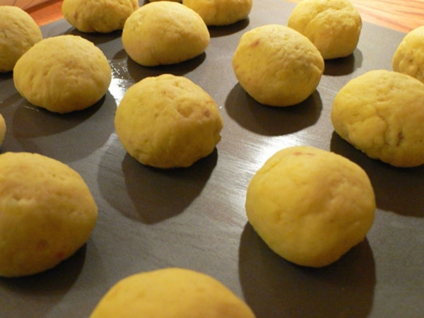 Albóndigas de patata y queso para niños