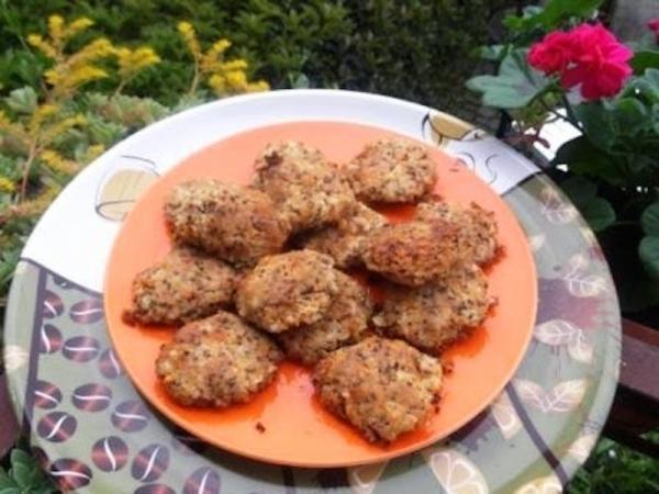 Albóndigas de quinoa gratinadas