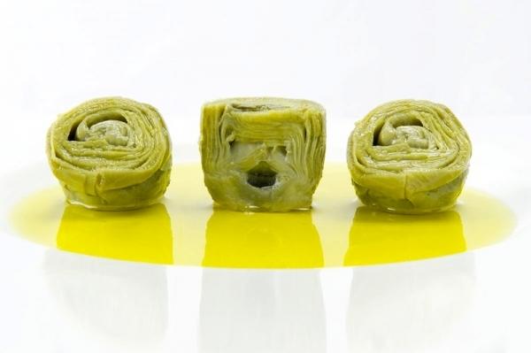 Alcachofas al aceite de oliva virgen