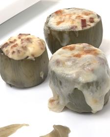Alcachofas con champiñones