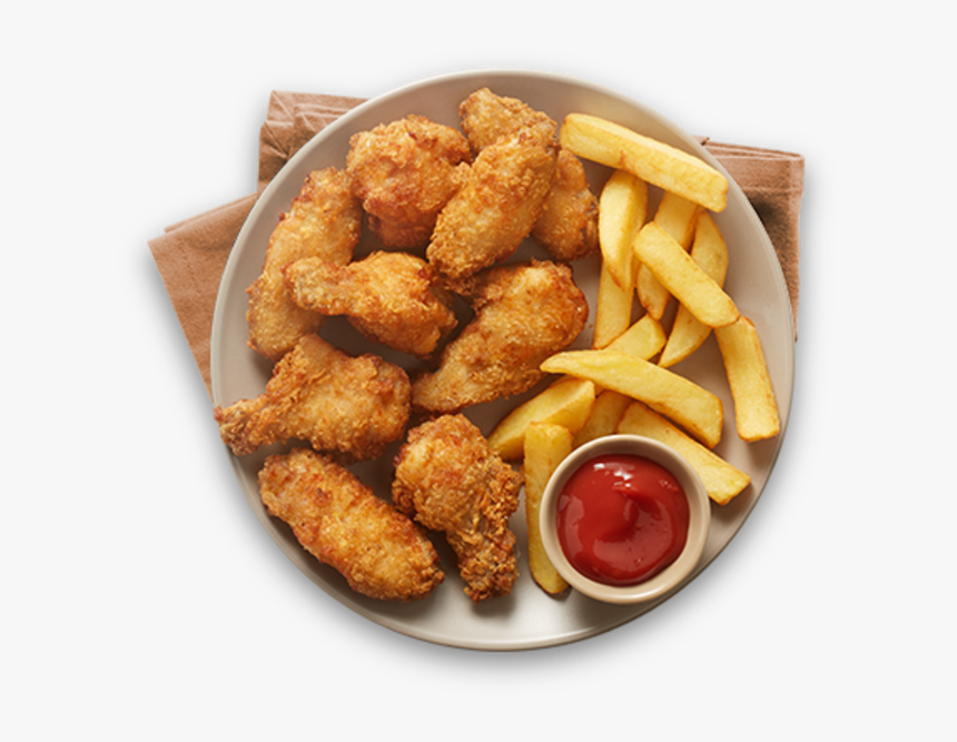 Alitas de pollo al estilo italiano