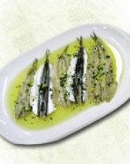 Anchoas marinadas