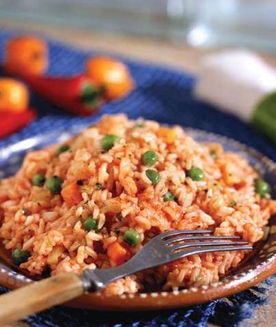 Arroz mexicano de verduras