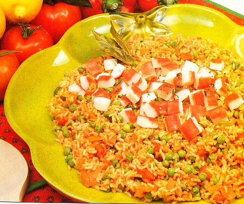 Arroz pilaf al escollo