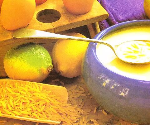 Avgolemono (huevo y limón)