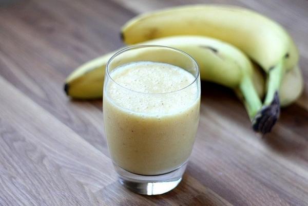 Batido de plátanos casero