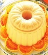 Bavarois a la naranja