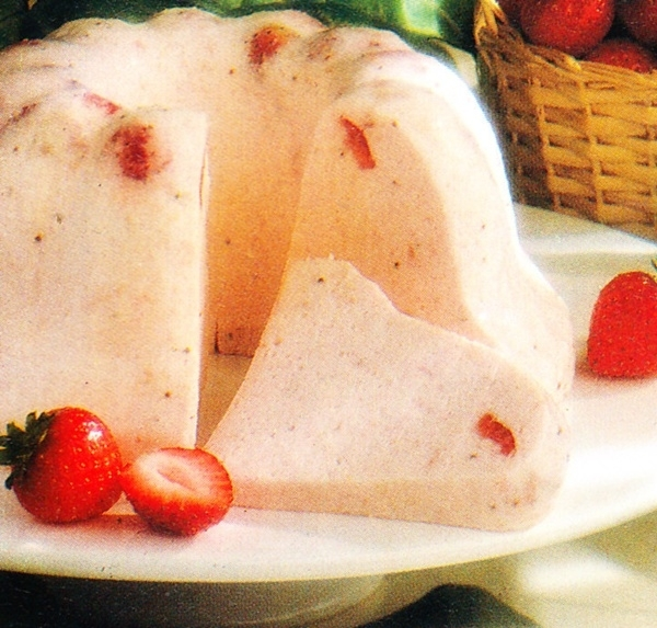 Bavaroise de fresas