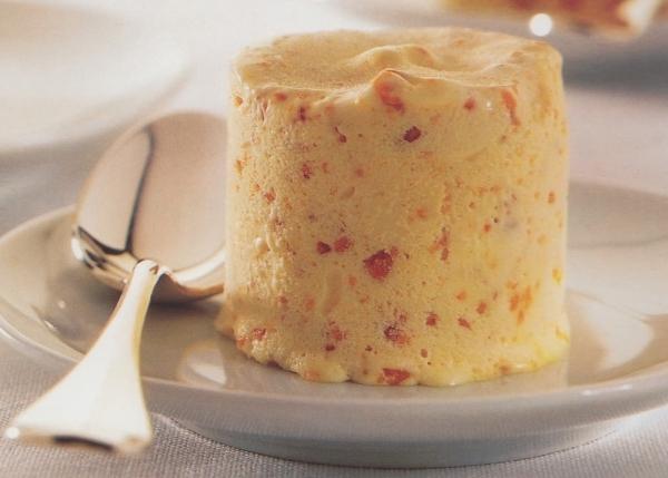 Biscuit helado de turrón de Jijona