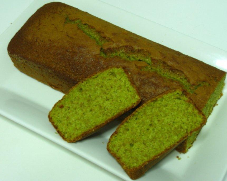 Bizcocho de té verde (Matcha Kasutera)