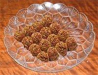 Bolas de almendras marroquíes
