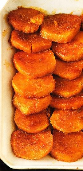 Boniatos azucarados
