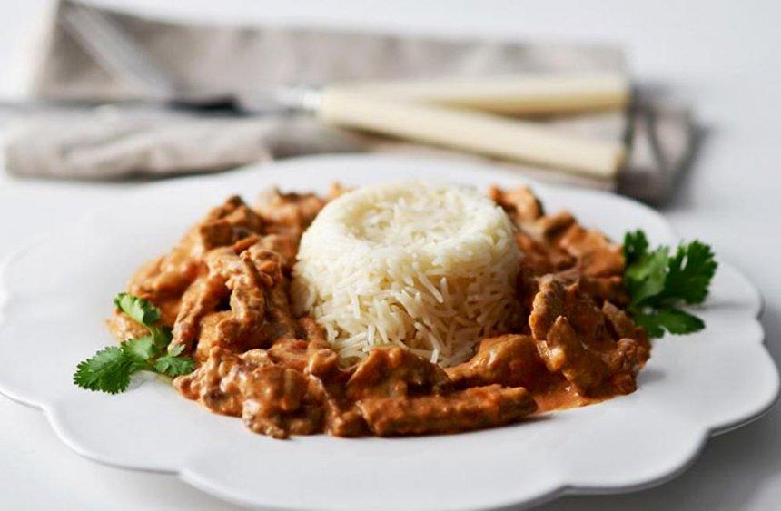 Buey con arroz