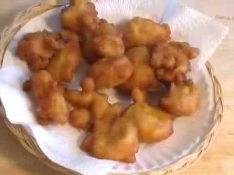 Buñuelos de maíz tierno