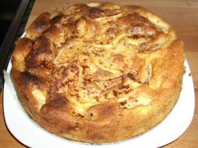 Cake de manzana y canela