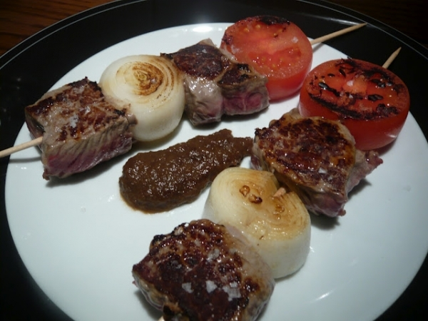 Carne a la brochette