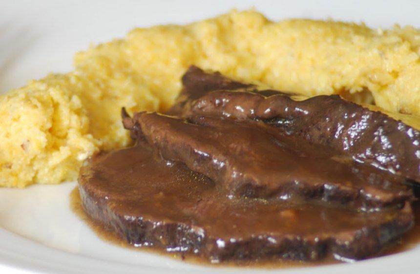 Carrilleras de ternera con salsa de vainilla