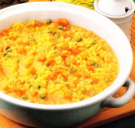 Cazuela de arroz con verduras