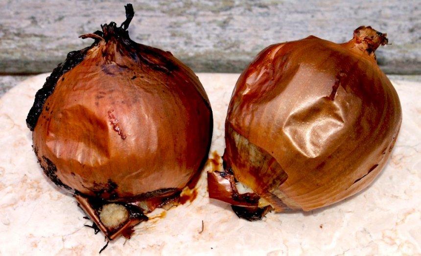 Cebollas al horno
