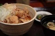 Cerdo al jengibre (Buta no shogayaki)