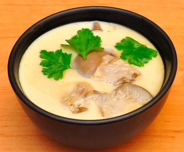 Chawan-mushi (Caldo de huevo al vapor)