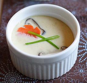 Chawanmushi (sopa cuajada de huevo)