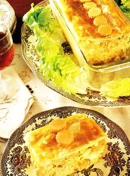 Chicken pie (Empanada de pollo)