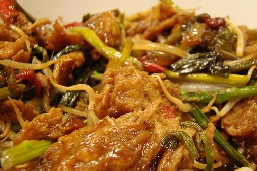 Chop-suey de seitán