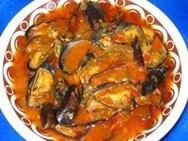 Choritos con salsa de vermut