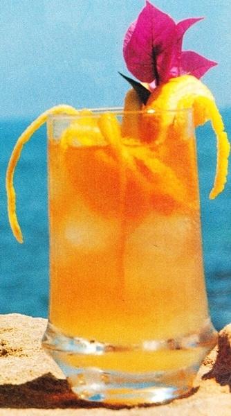 Cóctel de zumo de frutas