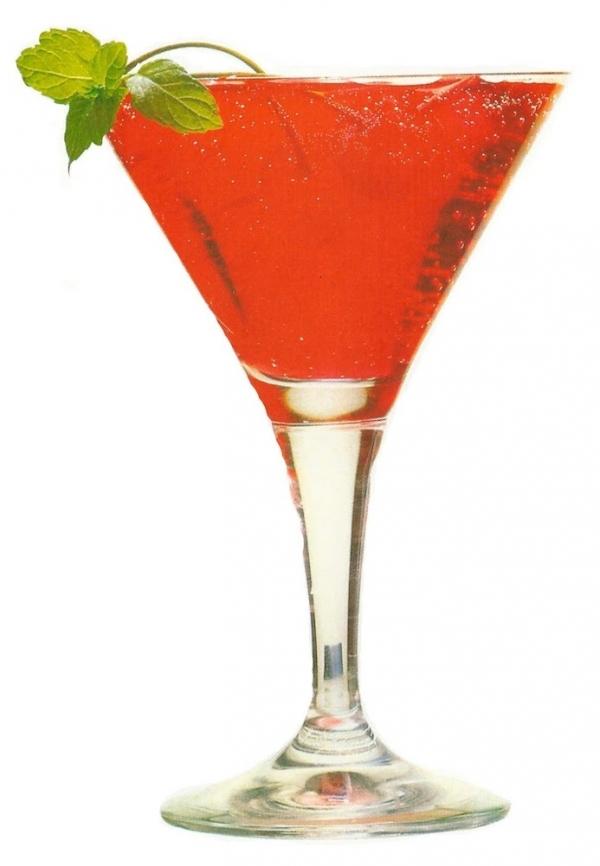 Cóctel Zombie con zumos tropicales
