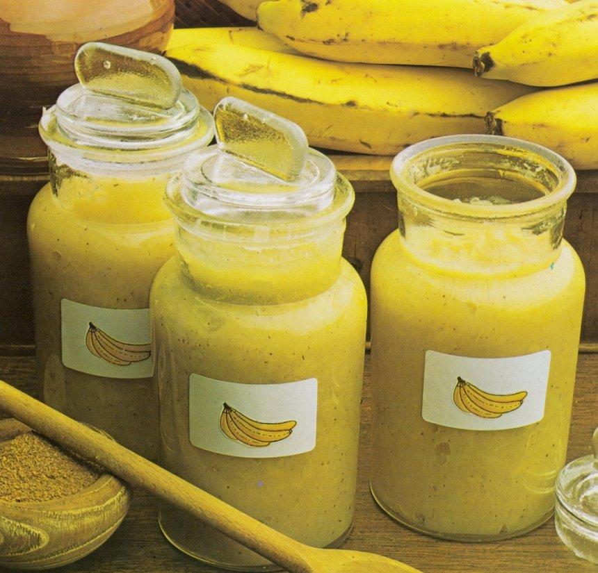 Confitura de plátano