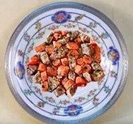 Cordero con zanahorias