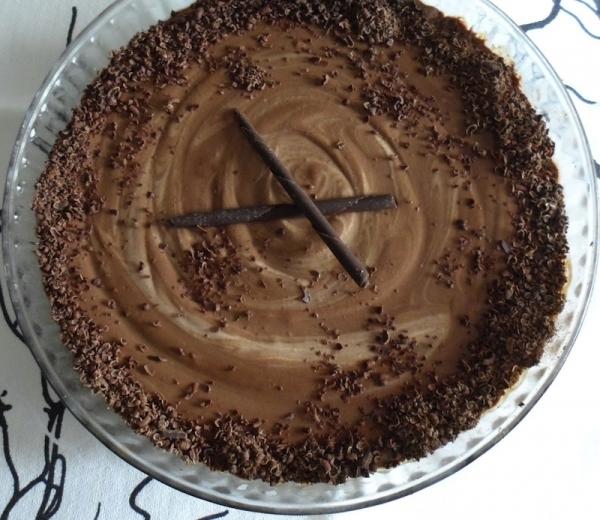 Crema castellana de chocolate
