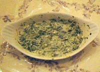 Crema de espinacas estilo hindú