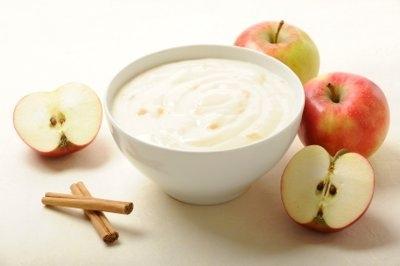 Crema de manzanas