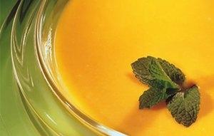 Crema de zanahorias con puerro