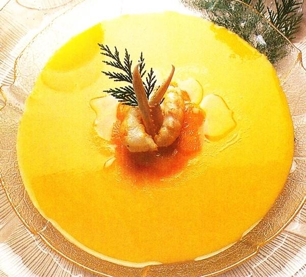 Crema fría de zanahorias