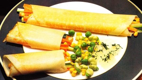 Crêpes vegetales