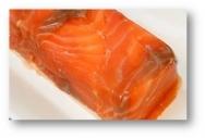 Cúpula de lenguado y salmón