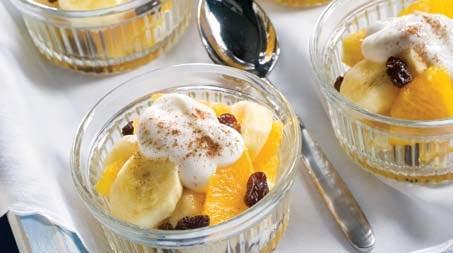 Desayuno de fruta