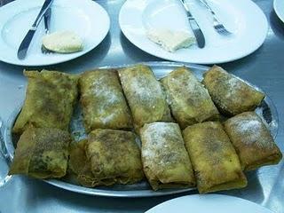 Dulce marroquí de almendras y bastela