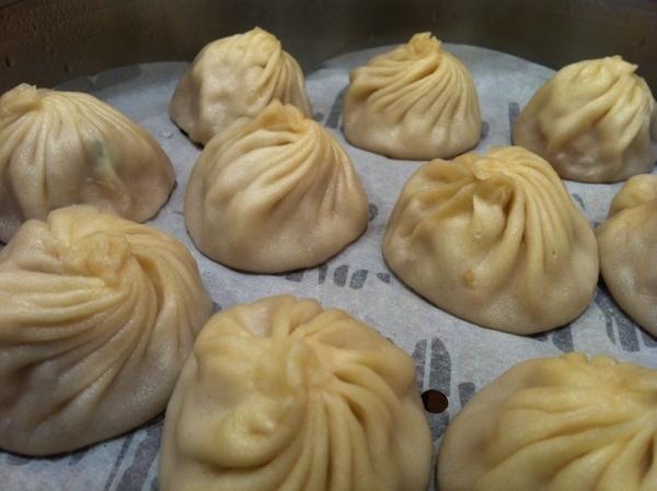 Dumplings al vapor