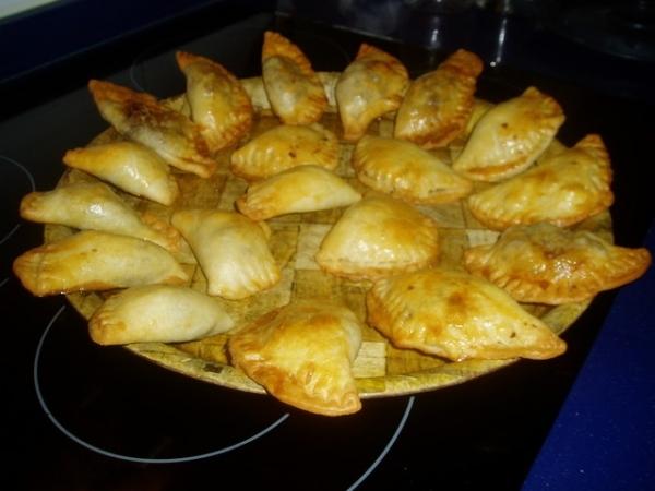 Empanadillas de calabacín